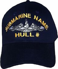 USS Pennsylvania SSBN 735 - Embroidered Submarine Ball Cap - Otto - BC Patch