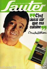 Publicité advertising 1981 Cuisine Eléments encastrables Sauter Michel Oliver