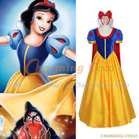 Snow White And The Seven Dwarfs Princess Snow White Cosplay Costume Fancy Dress