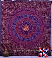 Hippie Indian Elephant Wall Hanging Throw Bedspread Bohemian Tapestry Ethnic Art