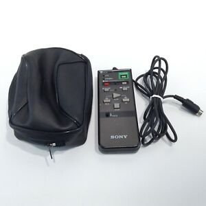 SONY Rm-87 Wired Remote Control for Video 8 Player w/ Carrying Case