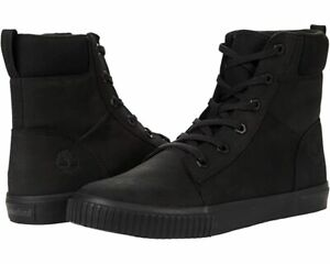 Timberland Classic Skyla bay 6 Inch Black Leather Boots for Women Everyday Style