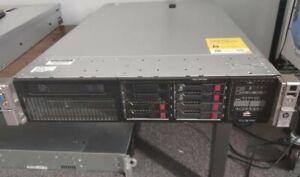 HP Proliant DL385p Gen8 2 x AMD Opteron 6378 32 cores 64 GB Ram 2 x 750 W PSU