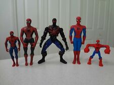 Lot of 5 Spider-man Spiderman Action Figures
