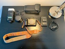 SONY Alpha a7ii + Godox TT350S Flash + Batteries + Altson EF/EF-S Adapter