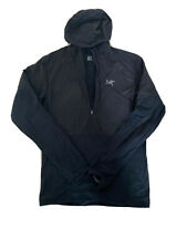 Arc'teryx Aptin Zip Hoody Hoodie Men's Small - Black