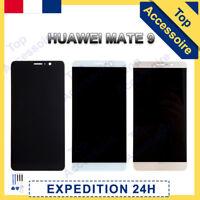VITRE TACTILE + ECRAN LCD ORIGINAL POUR HUAWEI MATE 9 NOIR / BLANC / OR + FILM