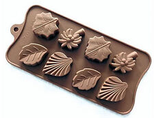 Coconut, Maple, etc Leaves Silicone Mold for Fondant, GP,  Chocolate, Craft