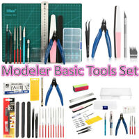 DIY Modeler Basic Tools Craft Set Hobby Model Building Kit Grinding FOR