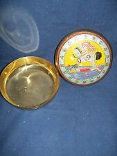 Brass Bowl with Holder Horse Rocker Cover Design USed