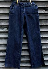"L.L. Bean Favorite Fit Curvy Dark Blue Denim Jeans Size 4 REG 31"" Inseam"