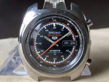 Vintage SEIKO Automatic Watch/ SEIKO 5 SPORTS Speed Timer 7017-8000 SS 21J 1970