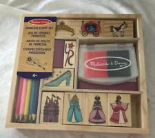 melissa and doug Princess Stamp Set New