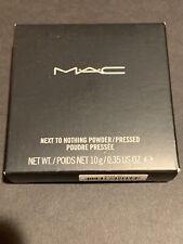 MAC Next To Nothing Pressed Powder Dark FREE SHIPPING