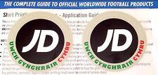 2017-18 JD galés reproductor oficial de futbol Premier League Conjunto De Parche Insignia de emisión