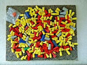 """Mixed Lot Of Over 275 """" NEW """" & Used Wire Connectors Of Different Types,Sizes,et"""