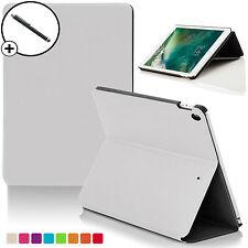 White Clam Shell Smart Case Cover Custodia per Apple iPad 9.7 2017 A1822 STILO