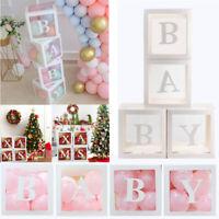 Merry Christmas Transparent Balloon Box Baby Shower Wedding Birthday Party Decor