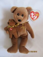 TY BEANIE BABY SIGNATURE BEAR 2005 - MINT - RETIRED