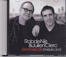 Rob De Nijs&Julien Clerc-Een Melodie promo cd single