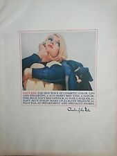 1964 Charles Ritz Navy Red Cosmetic Color Lips Nail Eye Sailor Blue Pretty Blond