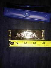 Hohner Hot Metal Harmonica. Key Of E. With snapcase.