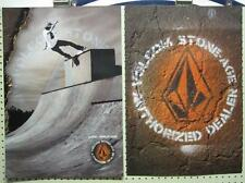 VOLCOM surf skateboard 2009 MARK APPLEYARD 2 SIDED POSTER ~MINT CONDITION~!