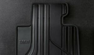 Originale BMW 4er F32 F33 F36 M4 Tutte le Stagioni Tappetini Frontale Gomma IN