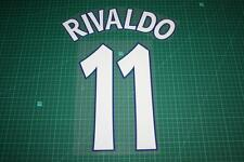 Barcelona 97/98 #11 RIVALDO Champions League Homekit Nameset Printing
