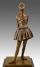 Künstler Bronze kleine 14-JÄHRIGE Tänzerin, sign. Degas