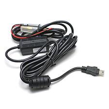 Hardwire DC Car Charger Power cord for Garmin Dash Cam 10 20 Auto DVR Recorder