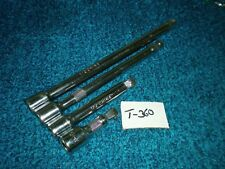 Pre Owned  4 Pc 1/2 in. Wobble Extension Set T-360