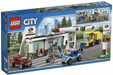 60132 SERVICE STATION lego city town train NEW legos set GAS OCTAN petrol SEALED