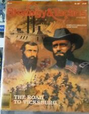 STRATEGY & TACTICS 103-The ROAD to VICKSBURG Game-New/UNPUNCHED