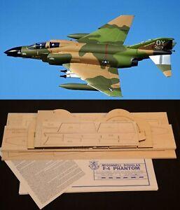 "44"" Ws Sport Scale F-4 PHANTOM R/c Plane partial kit/short kit & plans, PLS READ"