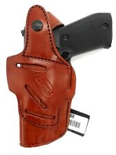 TAGUA Leather 4 in 1 OWB IWB AIWB SOB CD Thumb Break Holster for SIG SAUER P938