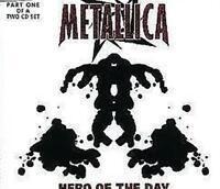 METALLICA  Hero of the Day: SINGLE: CD NEW