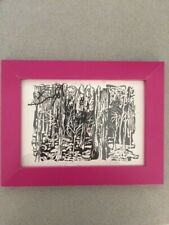 Laura Marling - signed photo frame with artwork