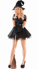 Sexy Party King Bewitching Pin-Up Witch Dress Costume PK444 ~ Also Plus Sizes