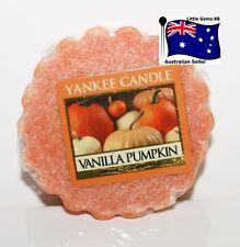 YANKEE CANDLE Tart Melt Vanilla Pumpkin FREE Postage for ADDITIONAL TARTS