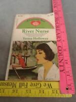 River Nurse by Teresa Holloway.  Valentine Romance (1969). Mass Market Paperback
