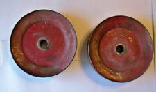 Toro lawn tractor mower deck spindle pulleys