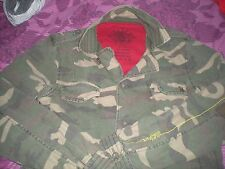Ringspun, size M, camouflage, button up jacket/coat