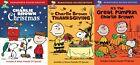 Peanuts Charlie Brown Holiday DVD Set (Thanksgiving, Great Pumpkin, Christmas)