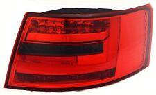 Feux arrière pour Audi A6 Saloon 04-08 rouge fumé del éclairage en bandes
