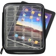 Altego Designer Tablet Sleeve, Clear Cover/Neoprene, Air Cushion Shock Resistant
