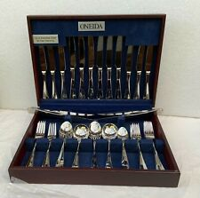 ONIEDA FLATWARE CANTEEN 18/10 STAINLESS STEEL 42 PIECE + 2 EXTRA SETTINGS.