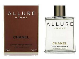 Chanel Allure Homme Aftershave Lotion Splash 100ml Bnib