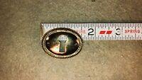 Vintage Antique Lock Escutcheon Brass Key Hole Cover Box Chest Drawer Hardware