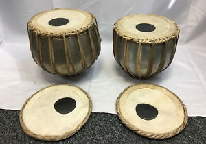 TABLA Set Of Two Indian Drums + Head Cover And Case